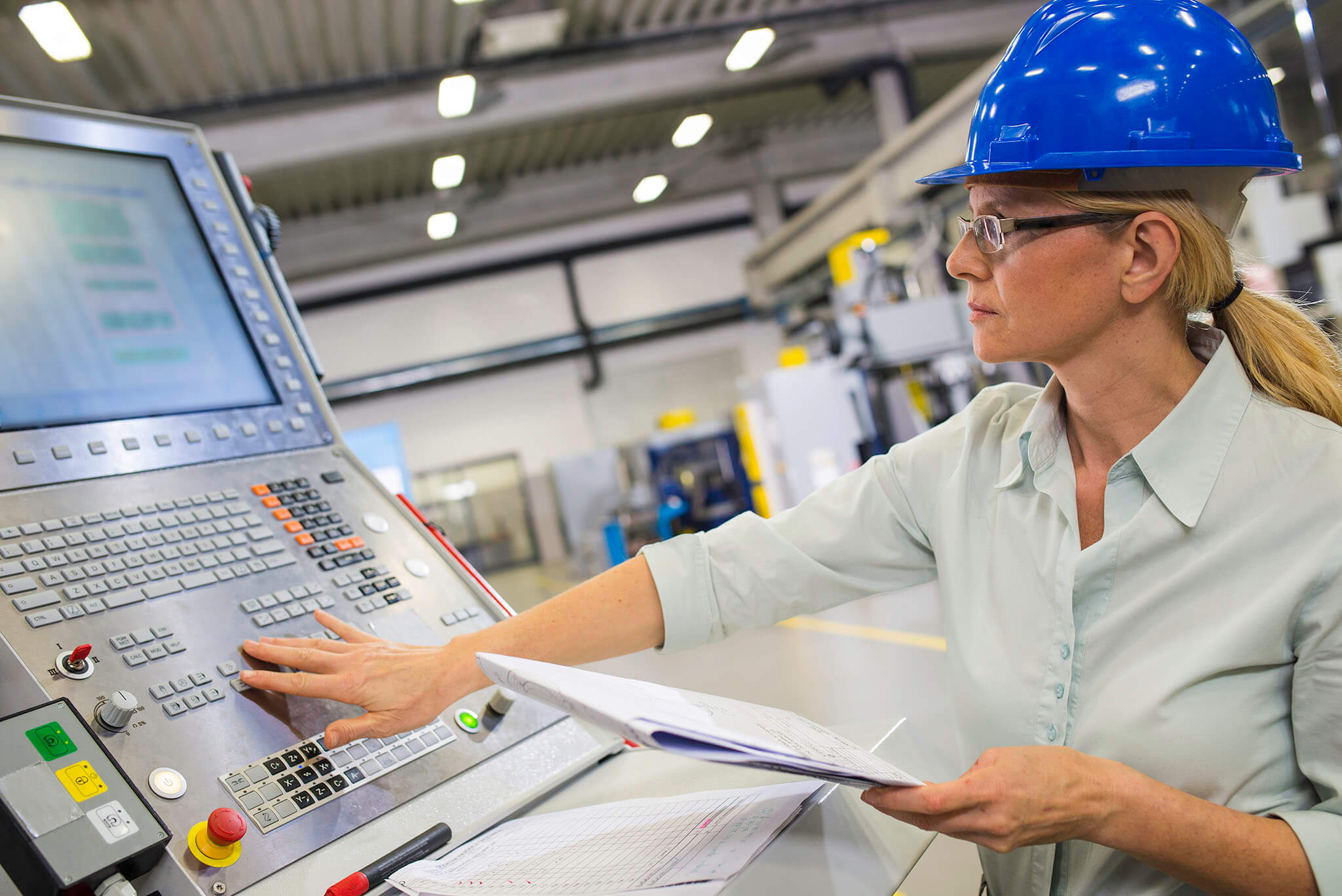 Female Operating Automated Control Systems by AAC